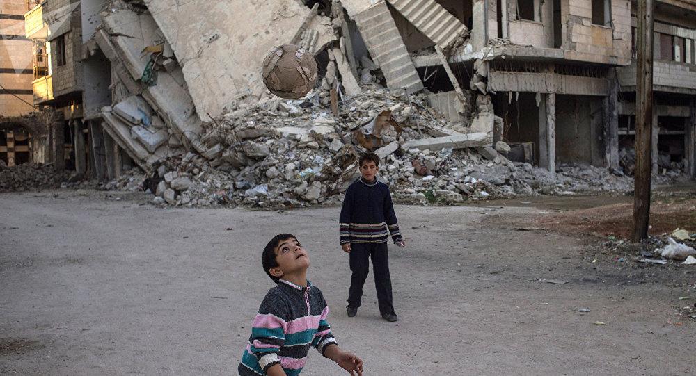La situation dans la ville syrienne de Homs