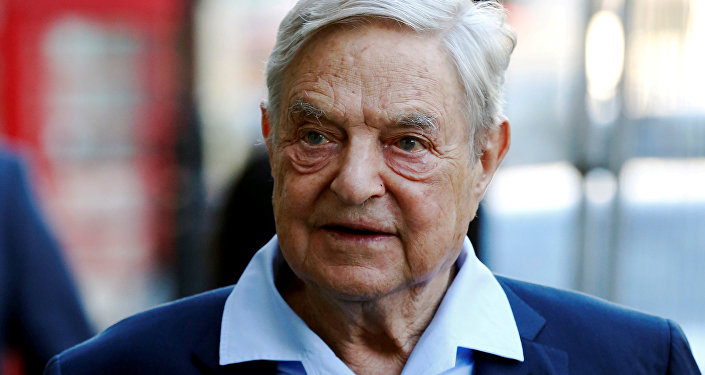 Business magnate George Soros arrives to speak at the Open Russia Club in London, Britain June 20, 2016.