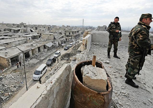 La police syrienne reçoit une formation spéciale (vidéo)