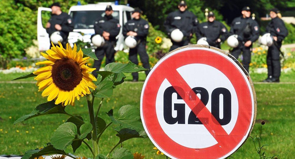 G20 à Hambourg: des mesures de sécurité sans précédent
