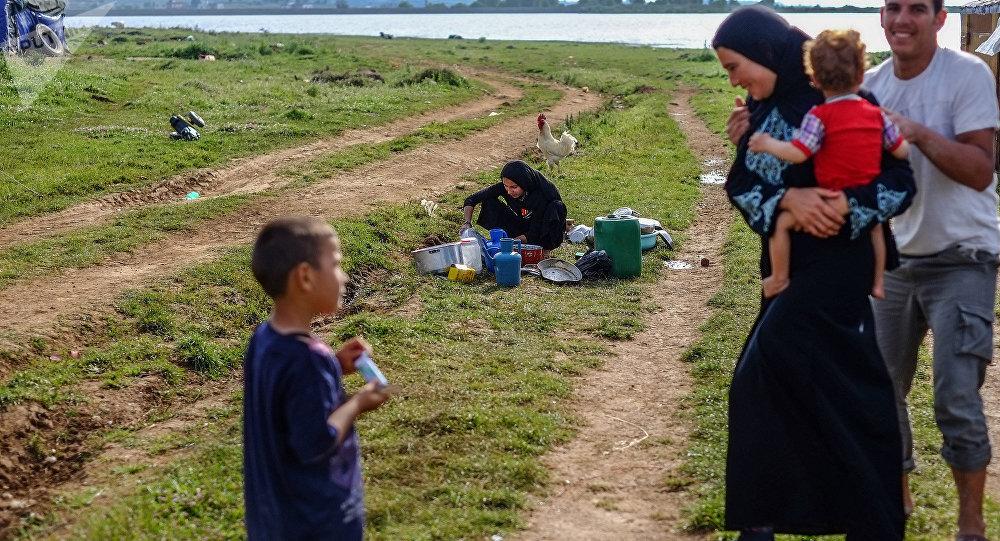 Сирийские беженцы в Ливане