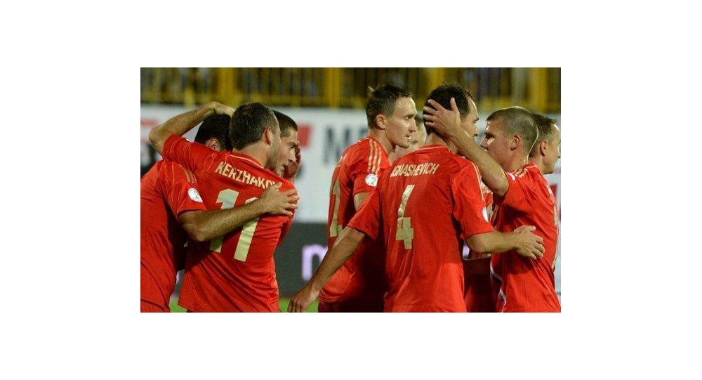 L'équipe nationale russe a battu Israël lors du match de qualification du Mondial 2014