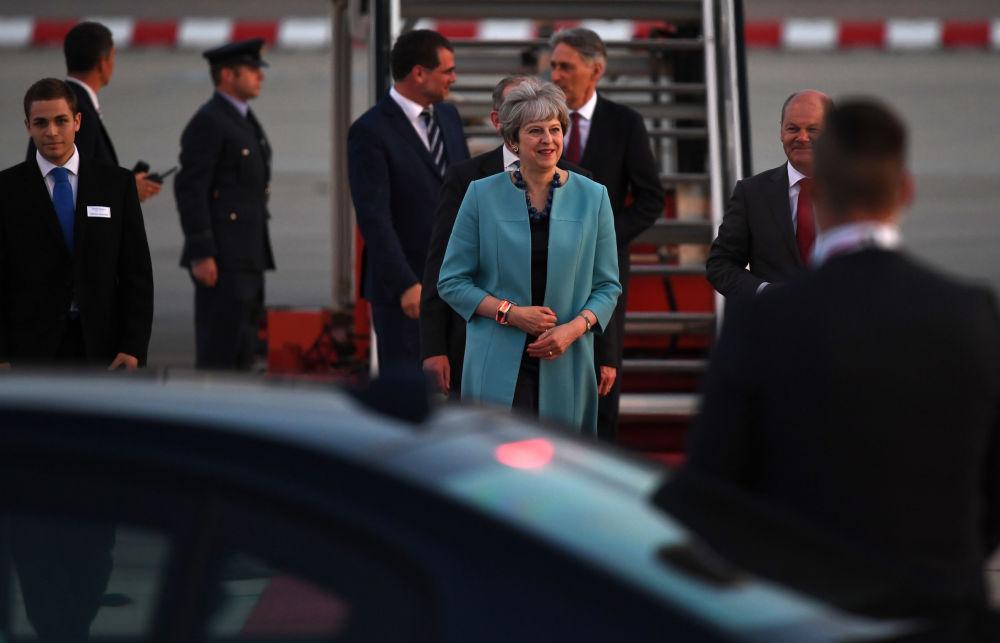 Les leaders du G20 sont arrivés à Hambourg