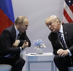 la première rencontre Trump-Poutine