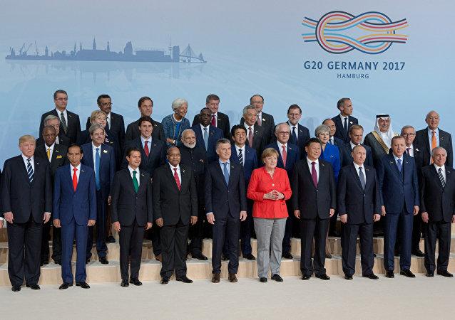 Le Sommet du G20 à Hambourg
