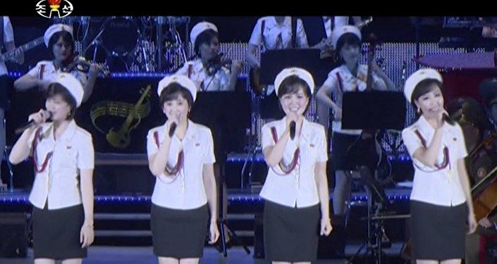 En Corée du Nord, tout se termine en chansons… même le test d'un missile
