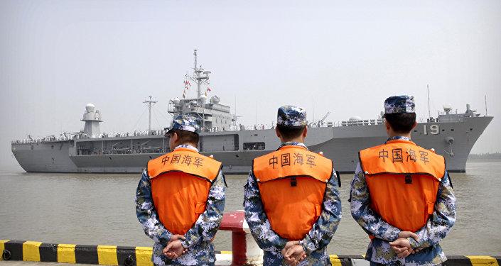 Des soldats de l'armée chinoise