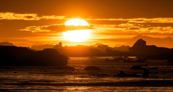 La fonte de l'Antarctique