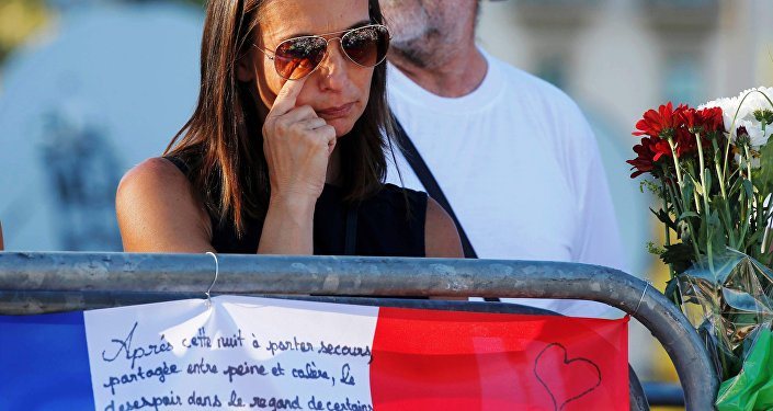 L'hommage aux victimes de l'attentat de Nice. Archive photo