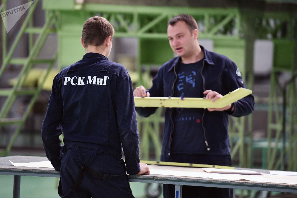 La production des chasseurs MiG dans la région de Moscou