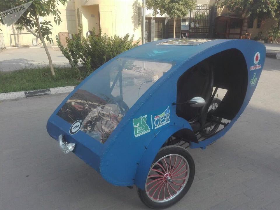 Un électromobile conçu par des étudiants du Caire