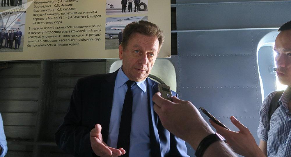 Nicolaï Pavlenko, constructeur principal du holding Hélicoptères de Russie