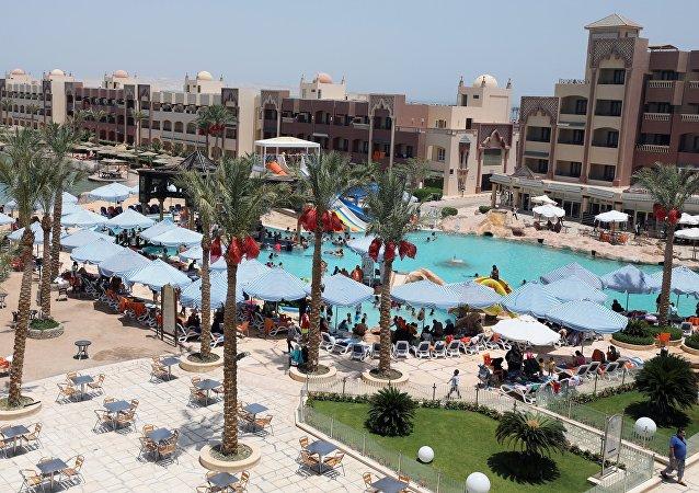 Une station balnéraire en Egypte