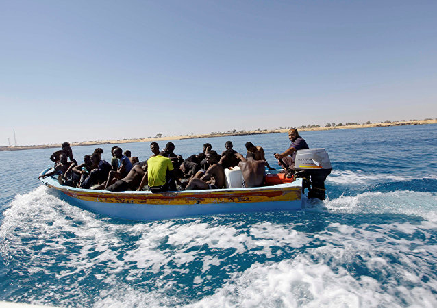 Migrants libyens