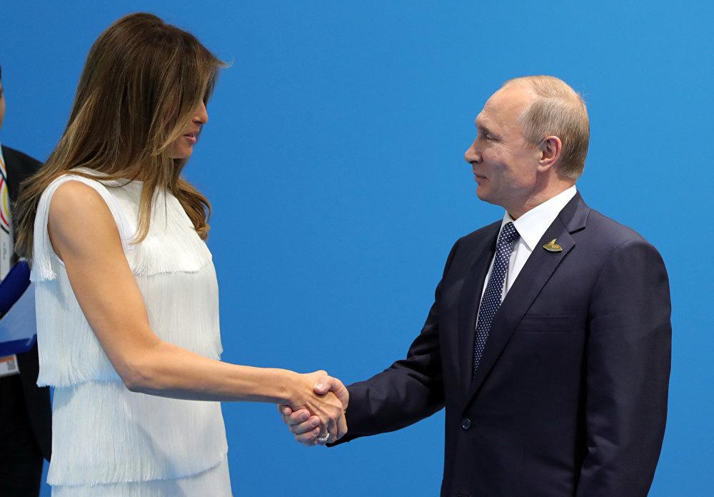 Melania Trump et Poutine