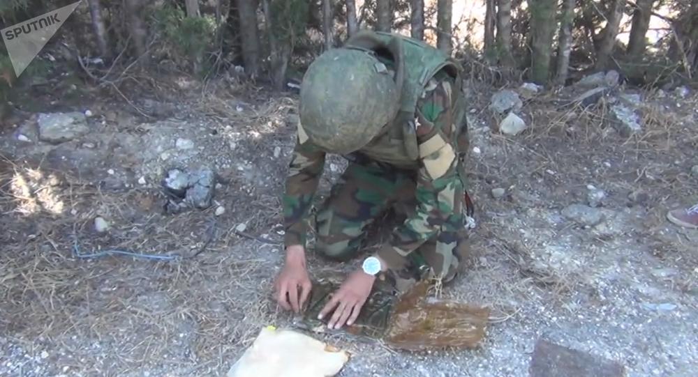 L'armée syrienne désamorce des mines dans des localités reculées de Lattaquié