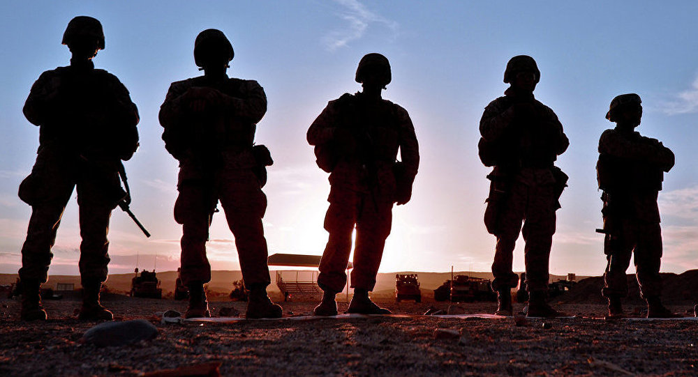 Des militaires américains