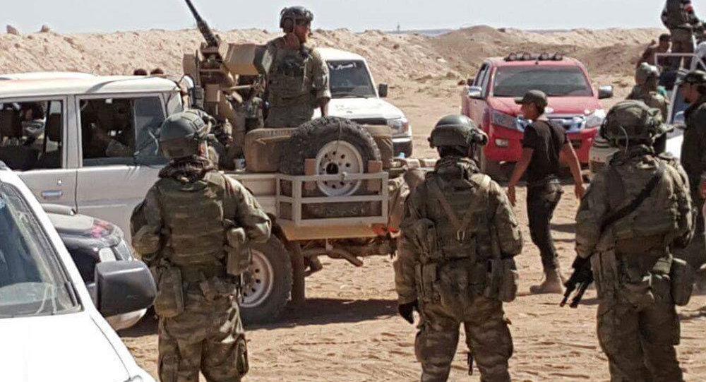 Militaires américains dans le nord de la Syrie
