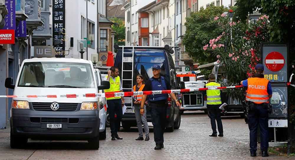 des policiers en Suisse (image d'illustration)