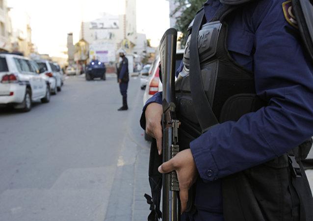 un policier soudien