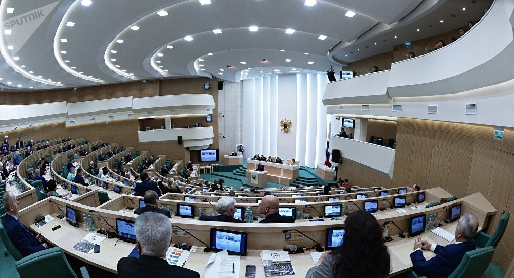 Le Conseil de la Fédération russe