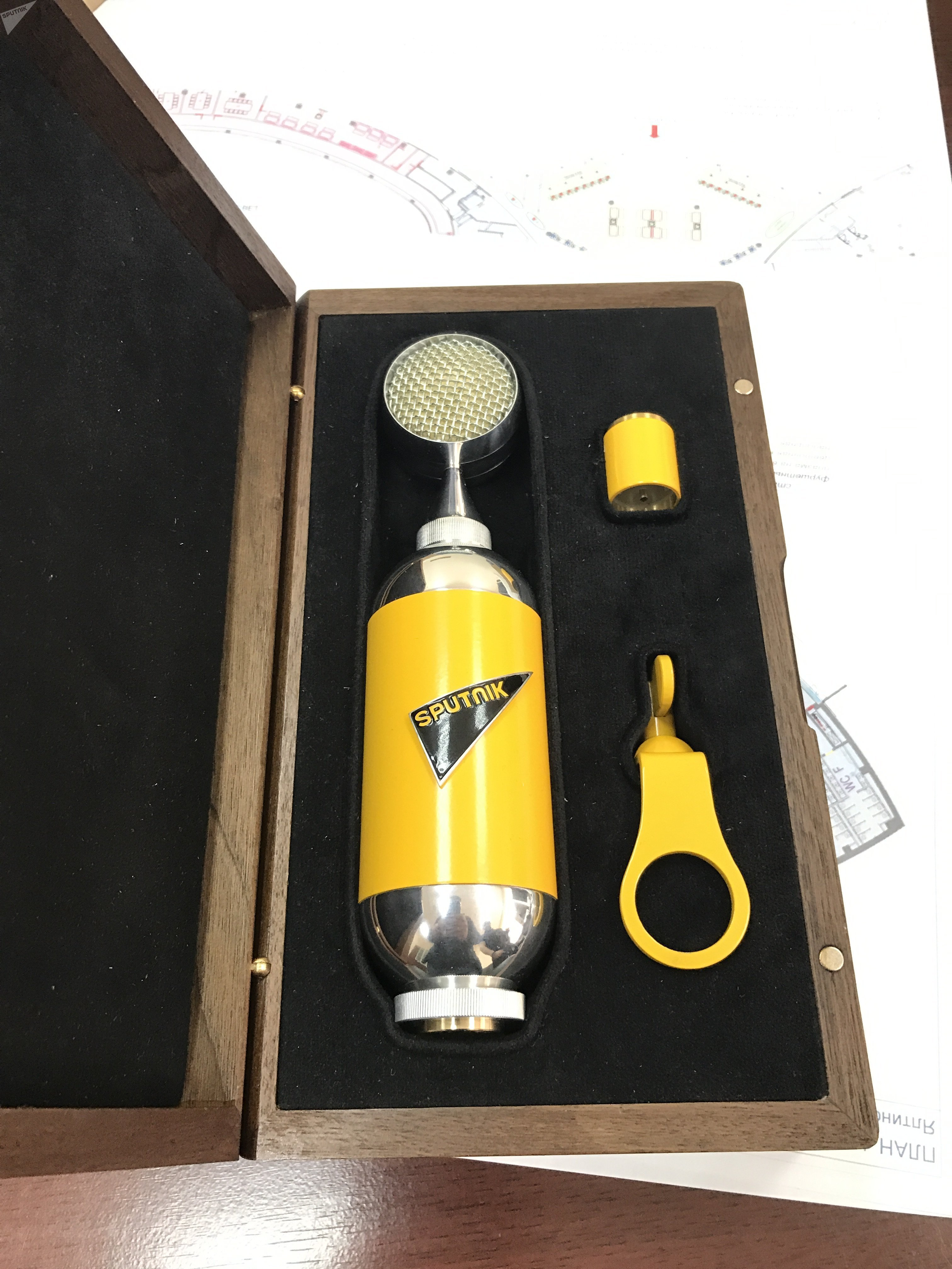SU-021, micros fabriqués à Toula pour Sputnik