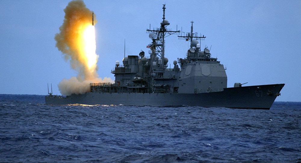 Tir de missile SM-3 américain