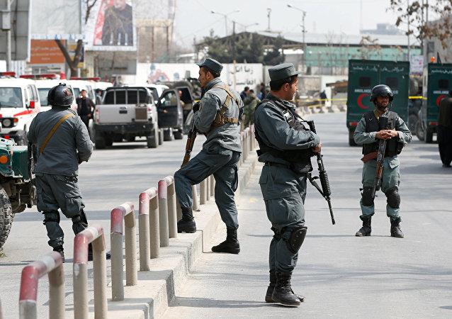 police afghane
