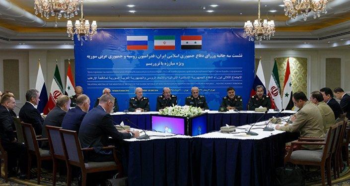 La Russie, la Syrie et l'Iran poursuivront la lutte conjointe contre le terrorisme