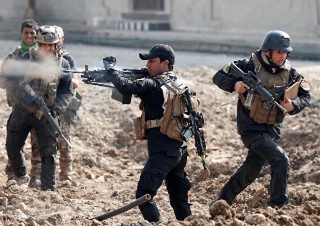des soldats iraqiens
