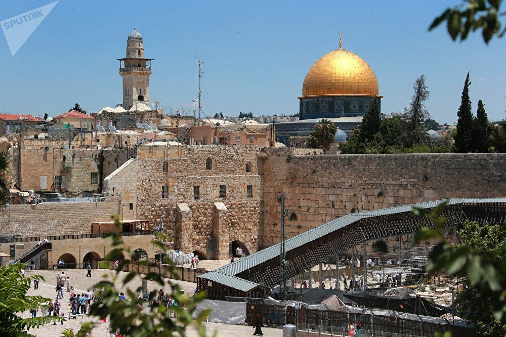 Jérusalem, en Israël