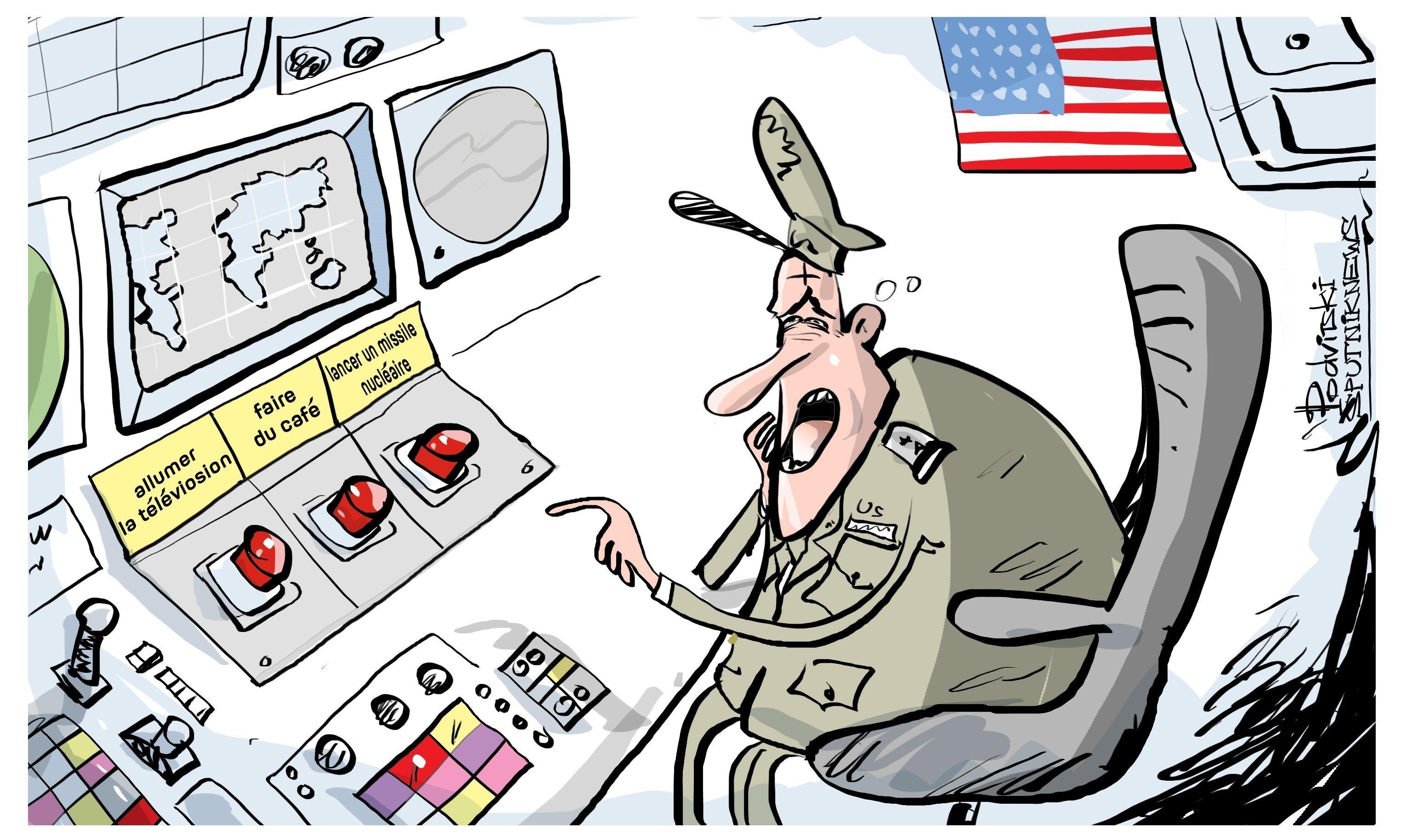 la flotte US du Pacifique prête à réaliser une frappe nucléaire contre la Chine