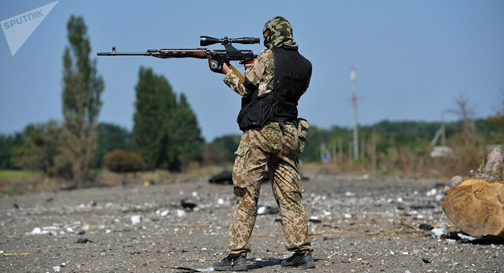 les snipers ukrainiens