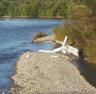 Crash d'un avion en Abkhazie, trois Russes tués (vidéo)