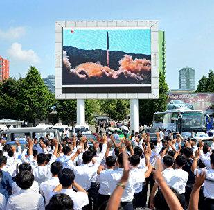 Test d'un missile nord-coréen