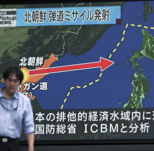 Tir de missile nord-coréen le 29 juillet 2017