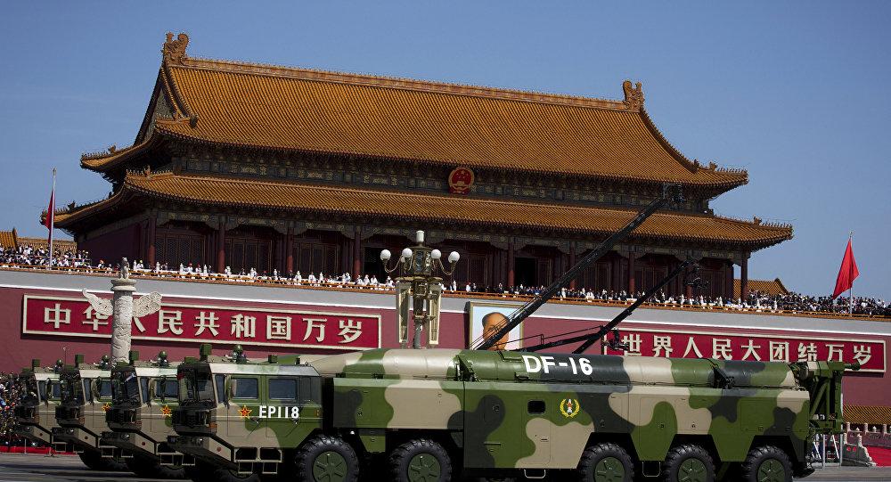 Grande démonstration de force de l'armée — Chine