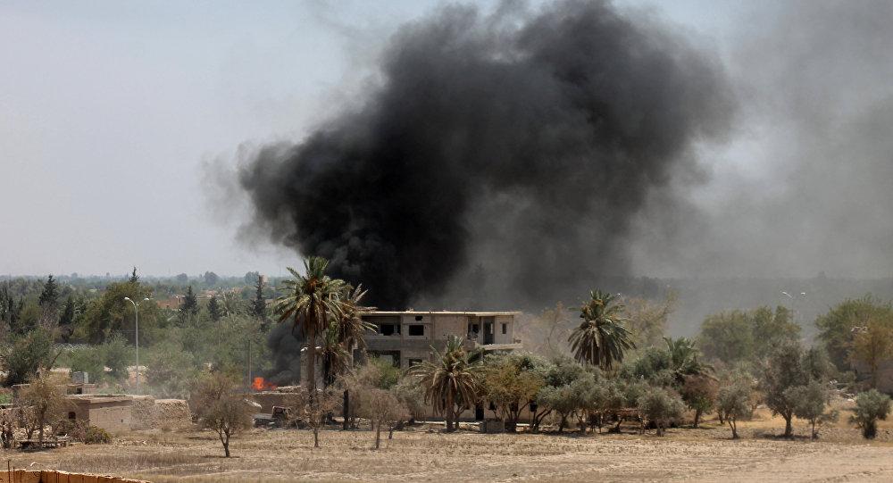 Luftschlag in Deir Ezzor (Archivbild)