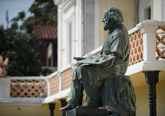 Monument au peintre Ivan Aïvazovski à Théodosie