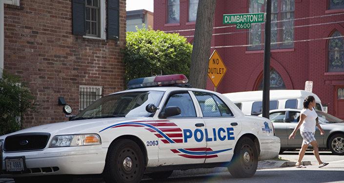 Une voiture de police américaine (archives)