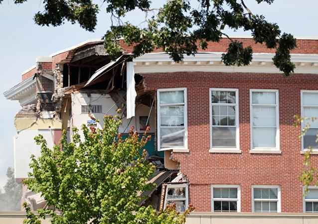 explosion dans une école du Minnesota