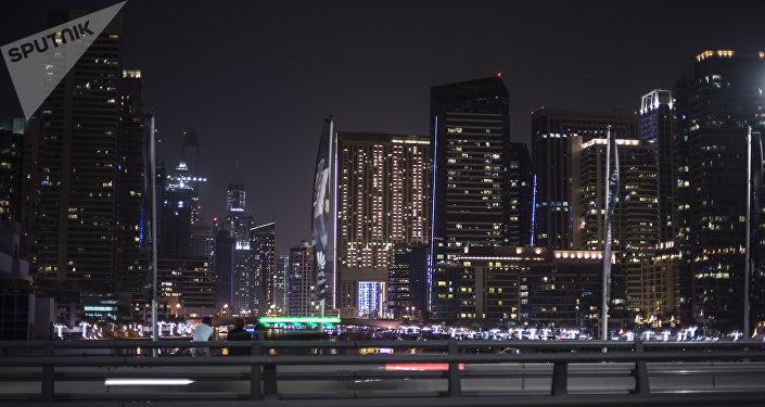 Des gratte-ciel à Dubaï