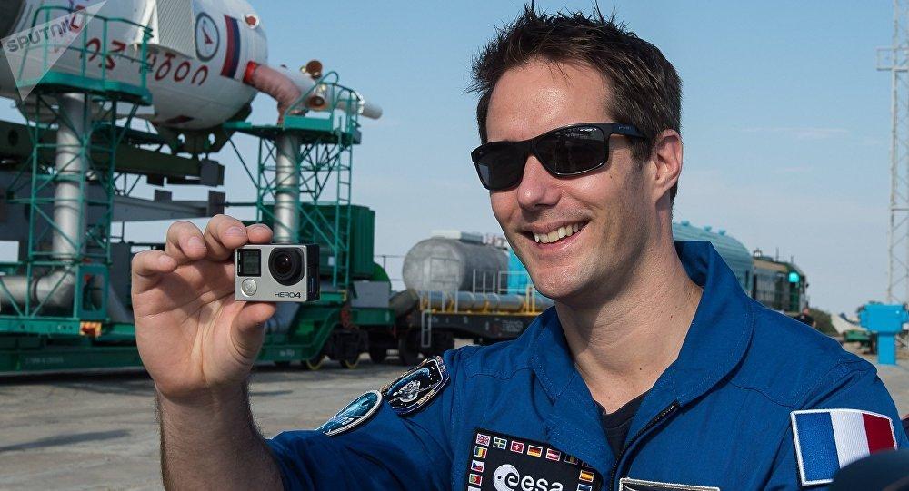 Thomas Pesquet, astronaute français.
