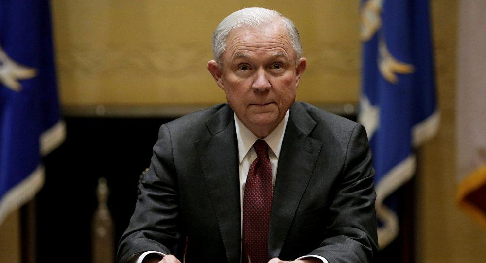 Le procureur général des États-Unis, Jeff Sessions