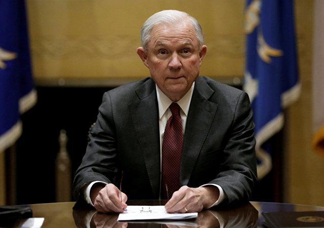 le procureur général des États-Unis Jeff Sessions