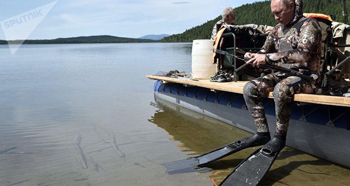 Les images du devon sur la pêche dhiver