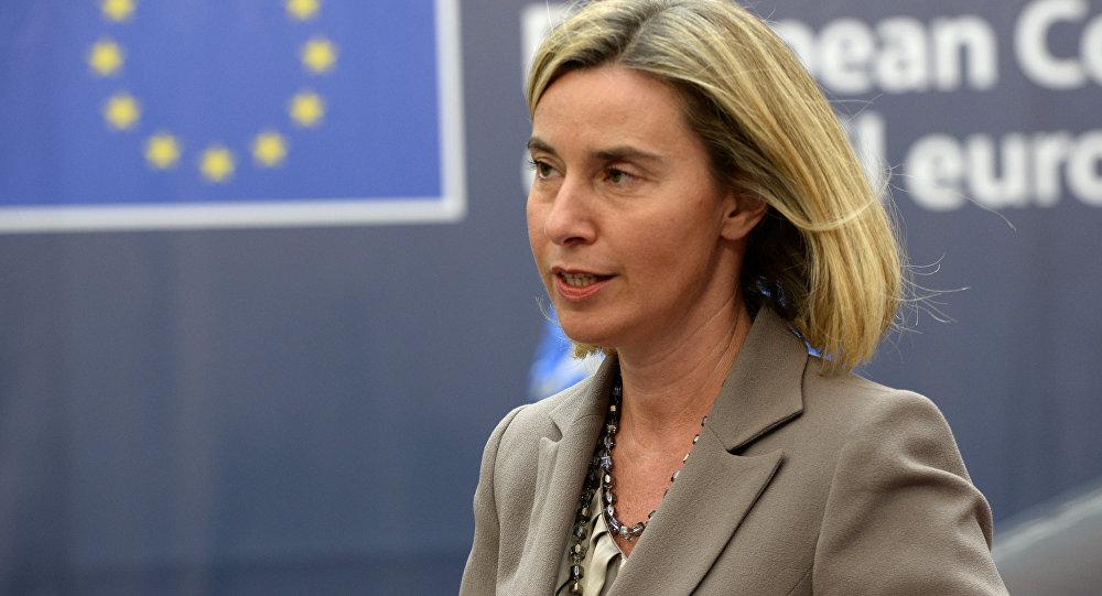 Federica Mogherini, chef de la diplomatie de l'Union européenne