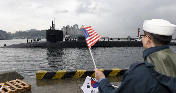 Un sous-marin nucléaire en Corée du Sud