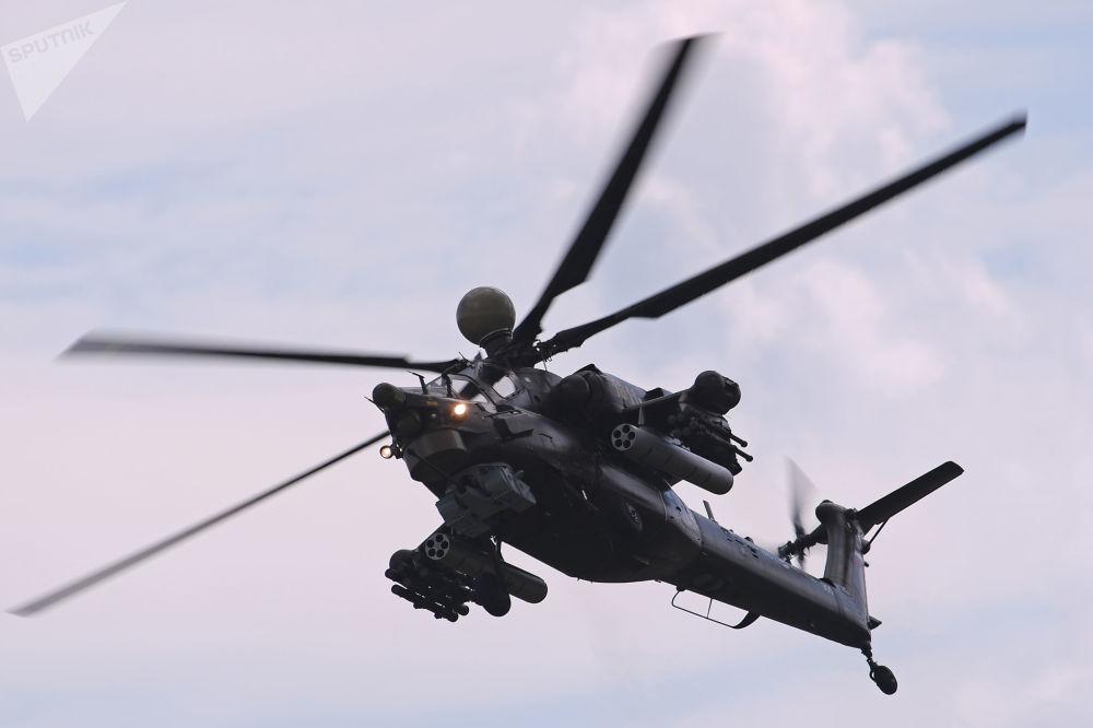 Un hélicoptère d'attaque modernisé Mi-28NM