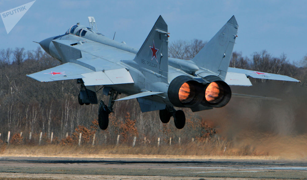 Le chasseur supersonique tout temps à long rayon d'action MiG-31